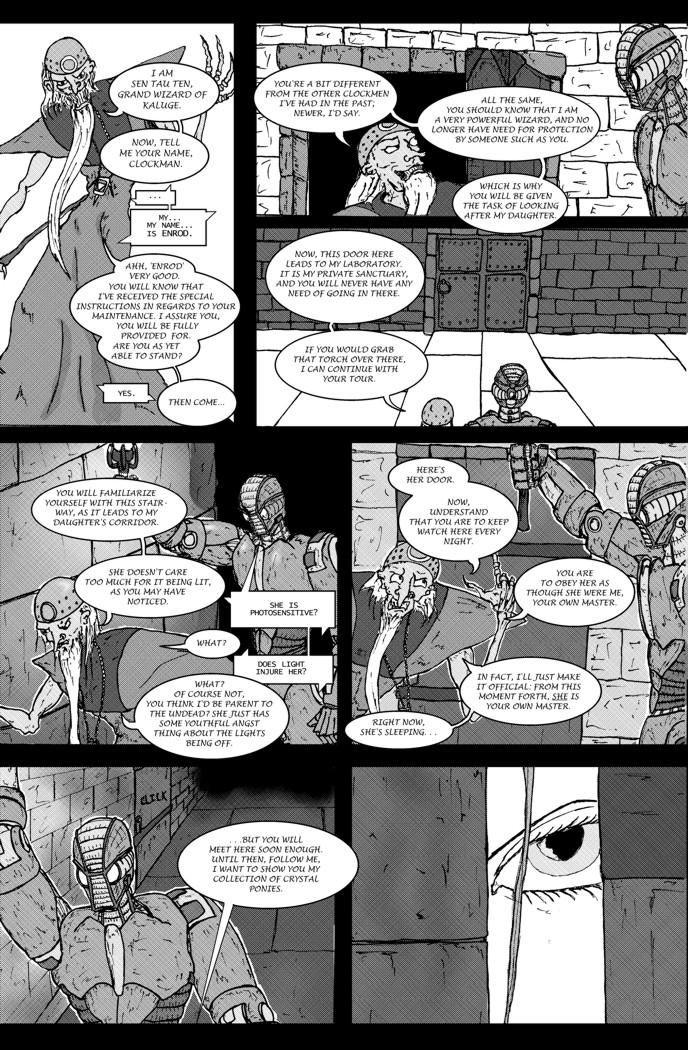 A Clockman's Training Page 2