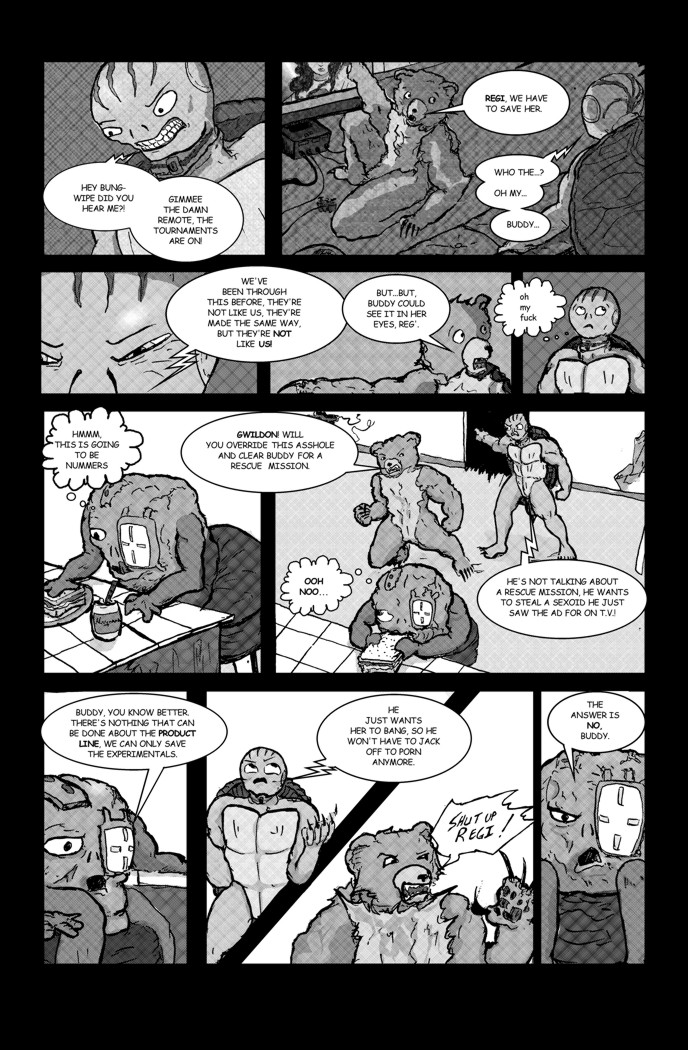 Genetic Love Page 2