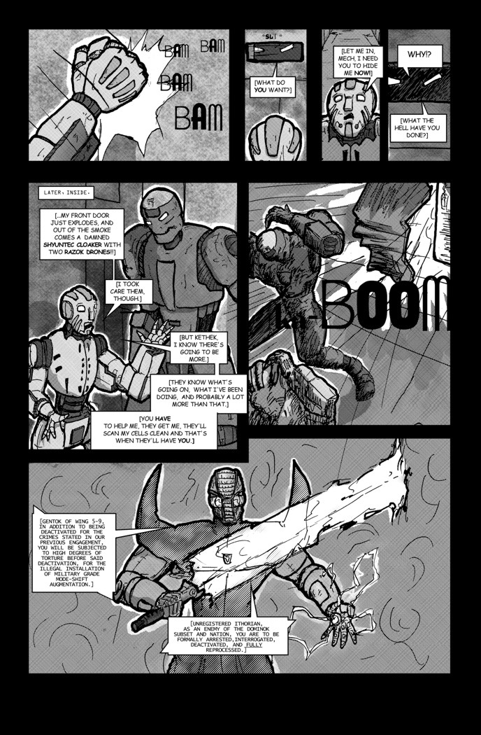 This Mech's Dream Page 5